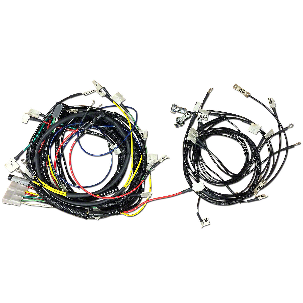 Pollak Wiring Harness Manual Guide Diagram Trailer 7 Solenoid Pronge Connector Odicis Gooseneck